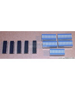 5 pcs LM3914 LED Driver + 5 pcs Bi-Color Fixed LED Bargraph (6G4R), NEW USA - $9.54