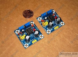 x2 NE555/LM555 Adjustable Square Wave Generator Assembled/Soldered KIT -... - $4.85