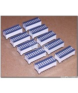 10 pcs BLUE LED BARGRAPH Array 10 Segments 100 mcd High Intensity NEW USA - $14.26