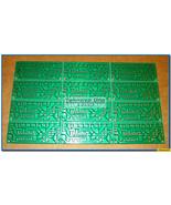 x12 PCB Only for NE555 & CD4017 LED Light Chaser / Sequencer / Follower ... - $9.90