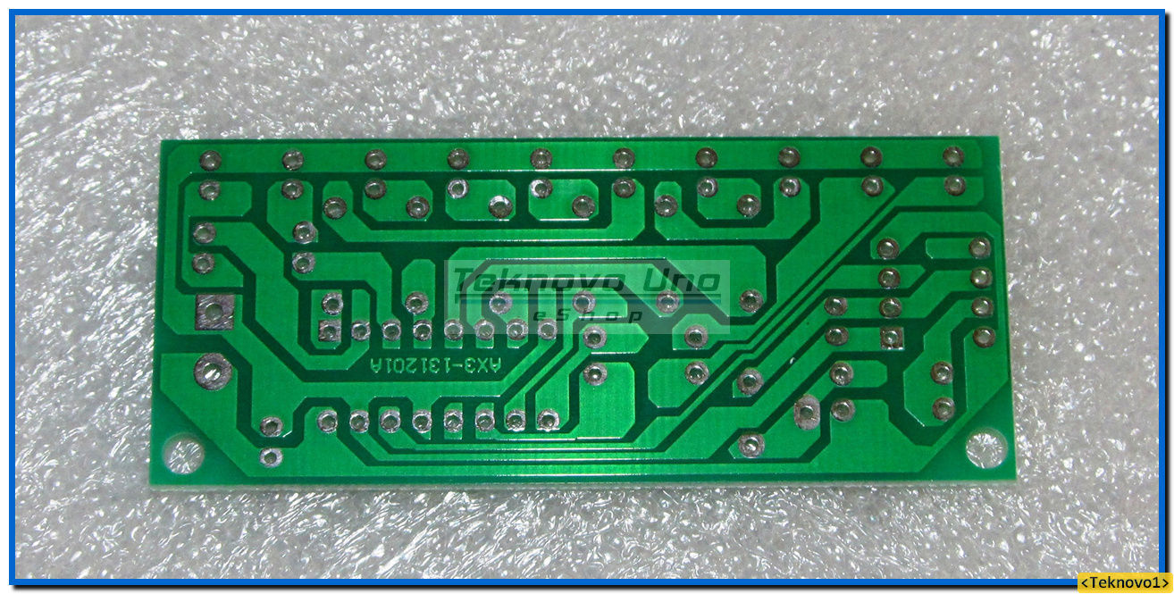 Primary image for x3 PCB Only for NE555 & CD4017 LED Light Chaser / Sequencer / Follower KIT - USA