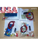 x4 KITs DIY Audio Sound Level Meter LM3915 [LED VU Meter] FULL Parts - USA - $12.05