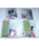 x4 NE555 & CD4017 LED Light Scroller / Chaser / Follower / Sequencer DIY... - $8.31