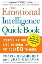 The Emotional Intelligence Quick Book [Hardcover] Travis Bradberry; Jean... - $2.92