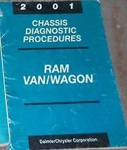 2001 DODGE RAM VAN WAGON Chassis Diagnostic Procedures Shop Repair Manua... - $28.69