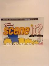 NIB Mattel The Simpsons Scene It DVD Board Game 2009 Family Fun TV Cartoon - $12.71