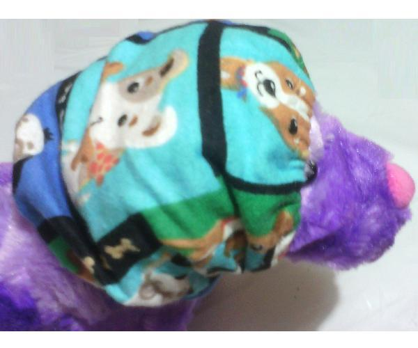 Dog Patch Elastic Snood Neck/Ear coverings for dog shows feeding time daily walk