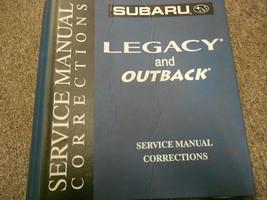 Subaru Legacy Outback Binder Service Repair Shop Binder FACTORY OEM - $39.55