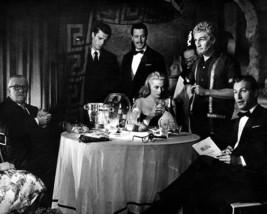La dolce vita Lex Barker Anita Ekberg Marcello Mastroianni 16x20 Canvas Giclee - $69.99
