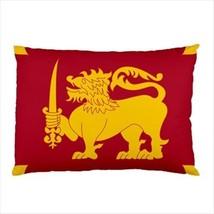 Sri Lanka Flag Pillow Case Cover - $14.82