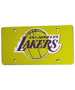 NBA Rico Tag Express Los Angeles Lakers Acrylic Laser Tag Mirror License... - $18.95