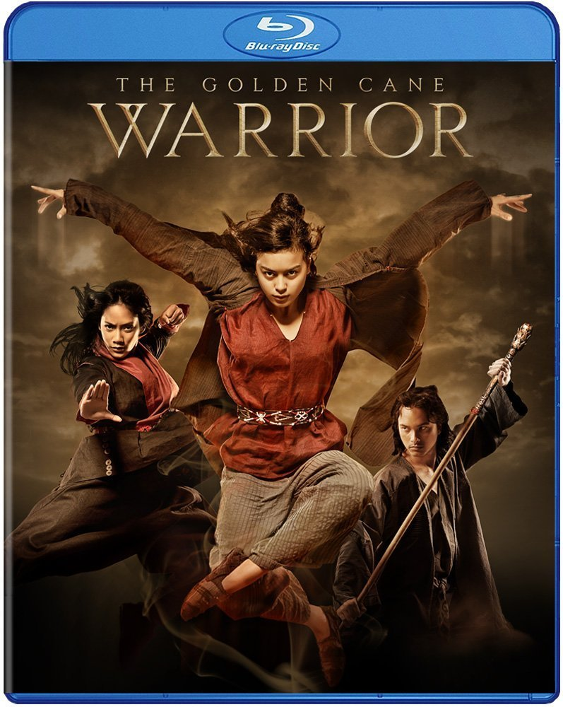 The Golden Cane Warrior BLU RAY DVD - Indonesian Martial Arts Action dubbed