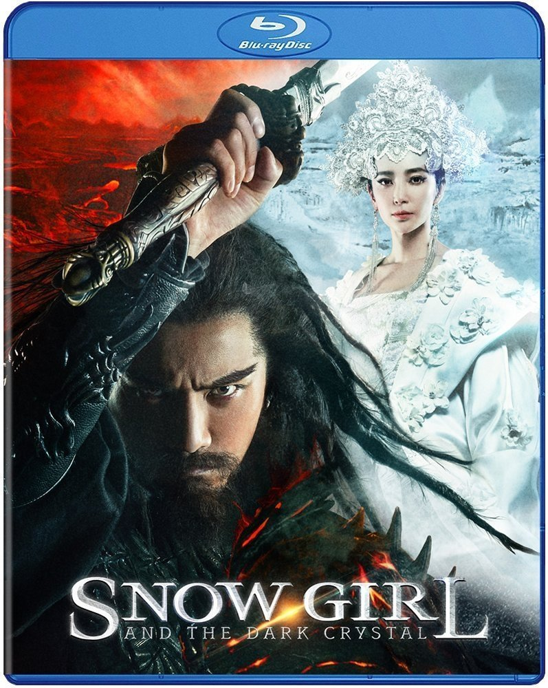 Snow Girl and The Dark Crystal BLU RAY DVD - Indonesian Martial Arts dubbed