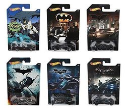 Hot Wheels 2015. Batman Complete Set of 6  Exclusive Diecast Vehicles - $14.99