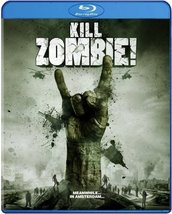 Kill Zombie! BLU RAY - Dutch Sci Fi Action Adventure  Yahya Gaier - $19.99