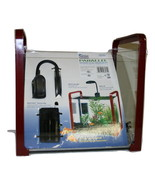 Penn Plax Water World Parallel Glass Designer Aquarium Kit - $42.99