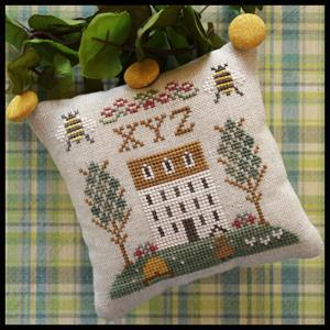 XYZ - #9 Little House ABC Samplers cross stitch chart Little House Needlework