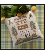 XYZ - #9 Little House ABC Samplers cross stitch... - $5.40