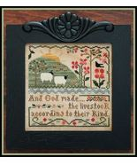 Sixth Day of Creation cross stitch chart Little... - $7.65