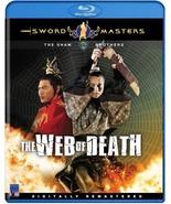 Web of Death BLU RAY DVD - Shaolin Kung Fu Martial Arts Action Hua Yueh Lo - $19.99