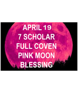HAUNTED APRIL 19TH  FULL COVEN 27X FULL MOON HIGH BLESSING MAGICK 97 YR ... - $77.77
