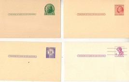 Uncirculated Post Cards, 1 cent, 2 cent, 3, cen... - $6.00
