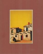 Pueblo Indian Village (Color typoraph) - $6.00