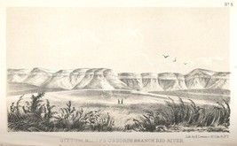 Gypsum Bluffs On The North Branch Red River [Plate No. 4] - $15.00