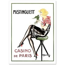 """Mistinguett-Parrot"" Hand Pulled Lithograph by the RE Society Orig. by G... - $99.00"