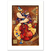 """Blues II"""" Limited Edition Serigraph by Dorit Levi New with COA - $69.00"""