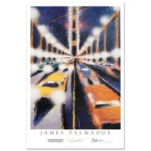 "James Talmadge! ""Bridge In Mist"" Official 1992 Art Expo Poster,  Signed NEW - $49.00"