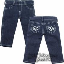 """Heart Pocket Skinny Jeans for 18"""" American Girl... - $10.63"""