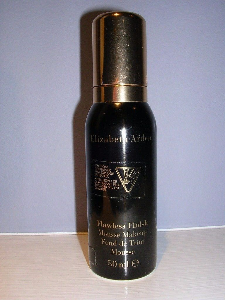 Primary image for Elizabeth Arden Flawless Finish Mousse Foundation 33 ECRU 1.40z / 50 ml NWOB