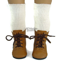 Tan 1800 Boots + Thigh High Socks made for Amer... - $11.73