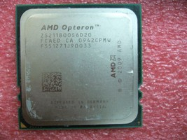 Qty 1x Amd Opteron ZS211800S6D20 Engineering Sample Cpu Six Core Socket F 1207 - $160.00