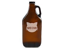 Cats Meow Beer Amber Growler - $39.95