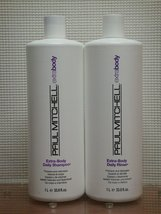 Duo Extra Body Daily Shampoo & Daily Rinse Liter by Paul Mitchell Liter ... - $26.29