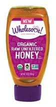 Wholesome Sweeteners Organic Raw and Unfiltered Honey, 16 Ounce - $19.79