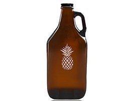 Pineapple Beer Amber Growler - $39.95