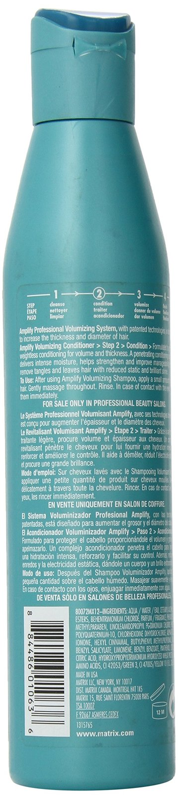 Amplify Volumizing System Conditioner by Matrix, 10.1 Ounce