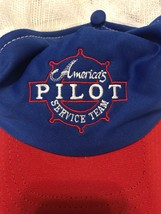 VTG 80s Americas Pilot Service Team Trucker Hat Cap Union Made in USA Airplanes image 2