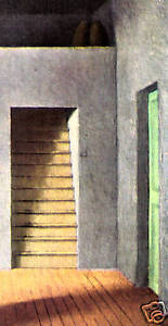 PIERRE ROY LITHO PRINT 1935 w/COA unique present of MAGNIFICENT MUSICAL RARE ART