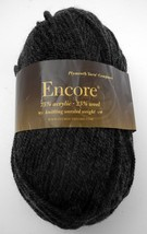 Plymouth Yarn Company Encore Worsted Weight Yarn-1 Skein Nightgrey Heath... - $9.46 CAD