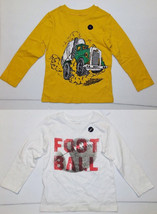 BabyGap Toddler Boys Long Sleeve T-Shirts 2 Choices Sizes 4T NWT - $11.19
