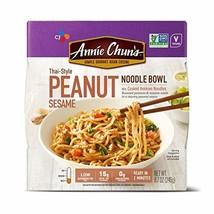 Annie Chun's Peanut Sesame Noodle Bowl, NON-GMO, Vegan, 8.7 Ounce Pack o... - $20.41