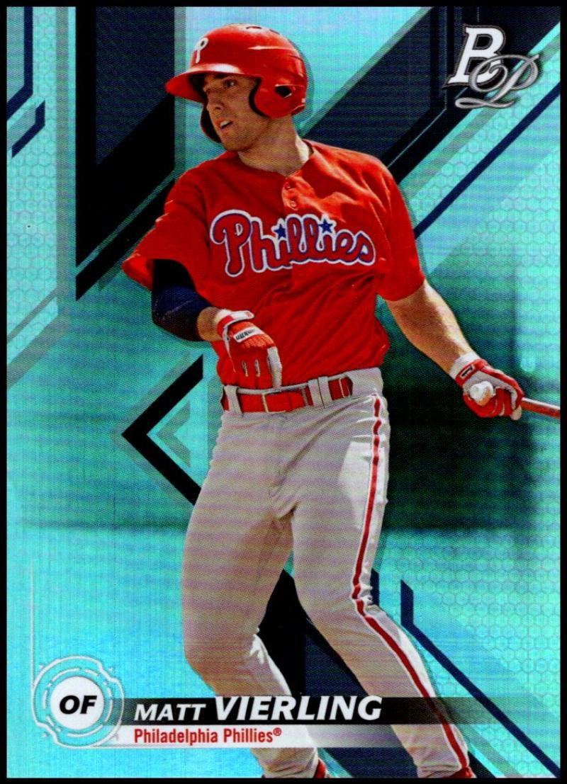 Primary image for 2019 Bowman Platinum Top Prospects #TOP-80 Matt Vierling NM-MT Philadelphia Phil