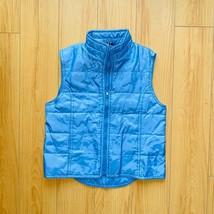 Gap Blue Puffer Vest Vtg Girls M - $34.99
