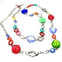 Necklace and Bracelet Antica Murrina Venezia CO525A19 Murano Glass Multicolour image 3