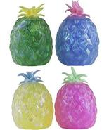 Set of 4 Pineapple Shaped Squeezable Pineapple Shaped Stress Figurines - $9.90