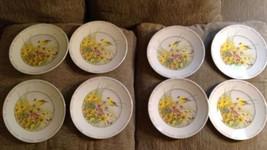 8 nEw Hallmark plate ~ Wildflower Meadow w/ Bir... - $55.74